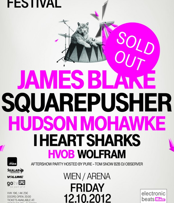Electronic Beats Festival Vienna 2012 Sold Out