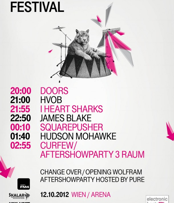 Electronic Beats Festival Vienna 2012 Running Order