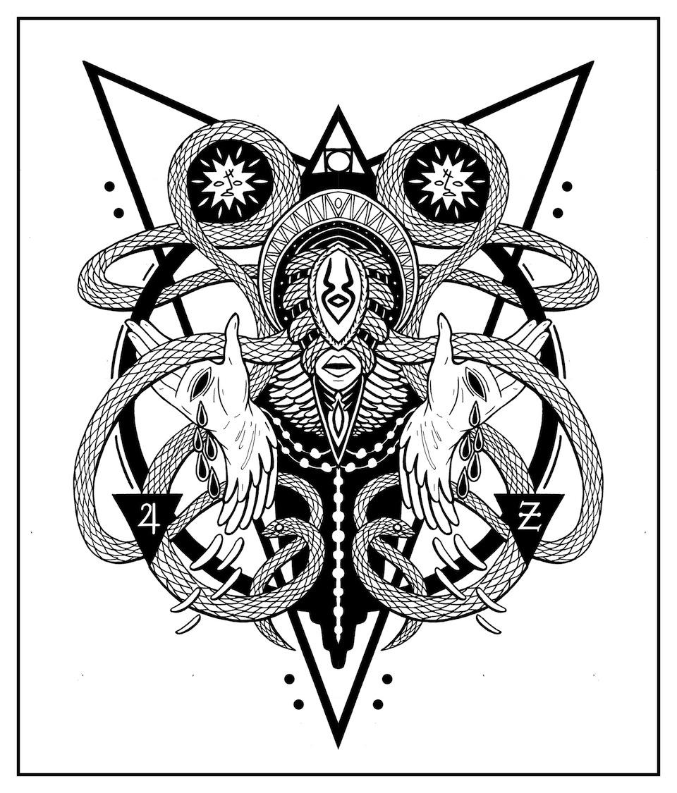 Tin Serpentine Spirit by Shaltmira