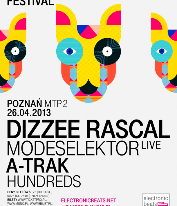 Electronic Beats Festival Poznań 2013: Hundreds to join A-Trak and Modeselektor