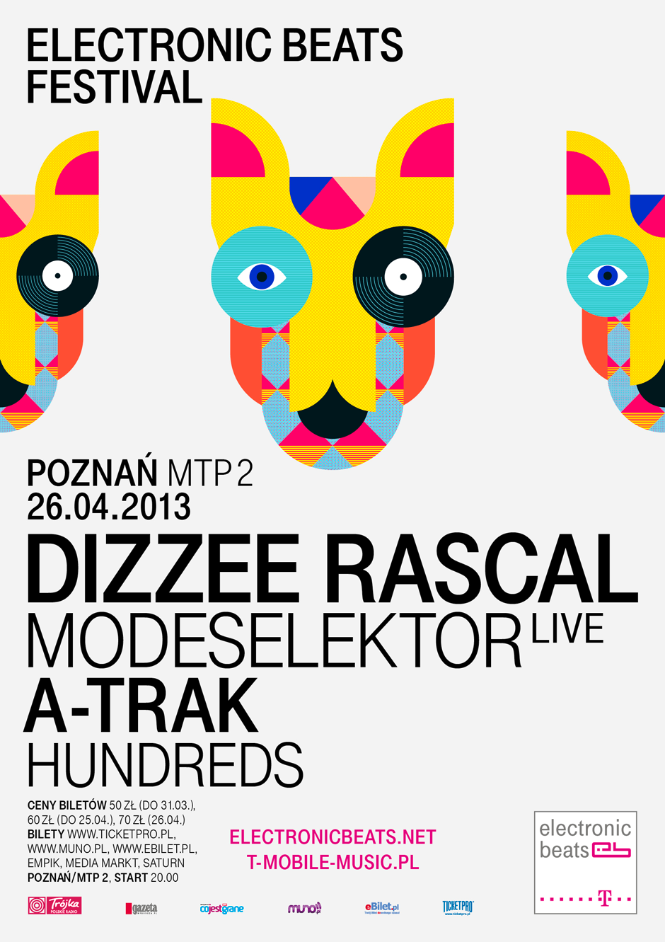 Electronic Beats Festival Poznań 2013: Hundreds to join A-Trak and Modeselektor