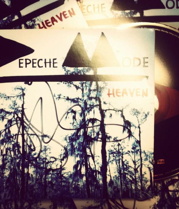 Win an autographed Depeche Mode single!