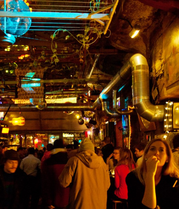 24 hours in Budapest: Ruin Bar