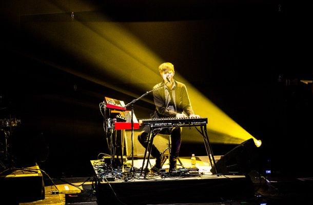 James Blake - Festival Cologne 2013 © Peymann Azhari