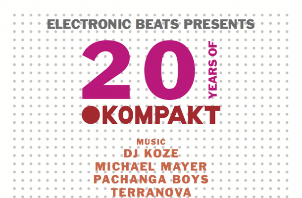 Sonar - Electronic Beats presents 20 Years of Kompakt