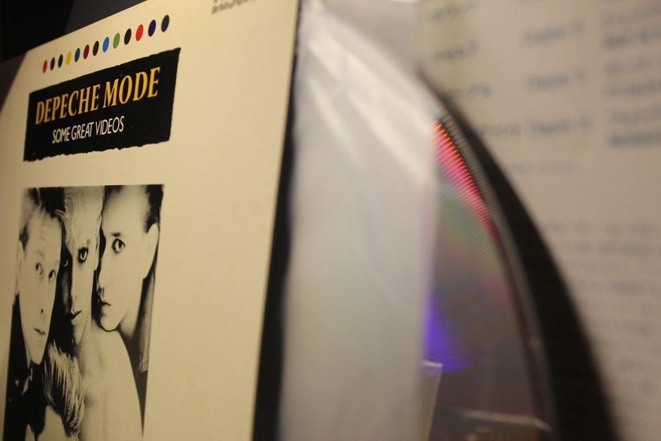 Depeche Mode Japanese laserdisc
