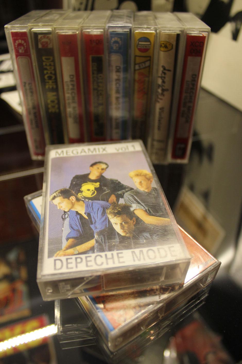 Depeche Mode Polish bootleg cassettes
