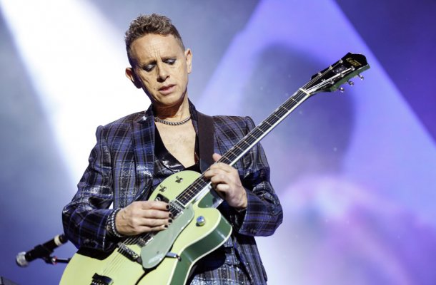 Martin Gore live with Depeche Mode in Berlin, 2013