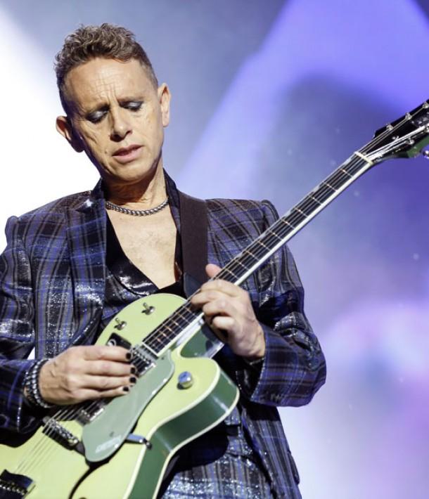 Martin Gore live with Depeche Mode in Berlin, 2013