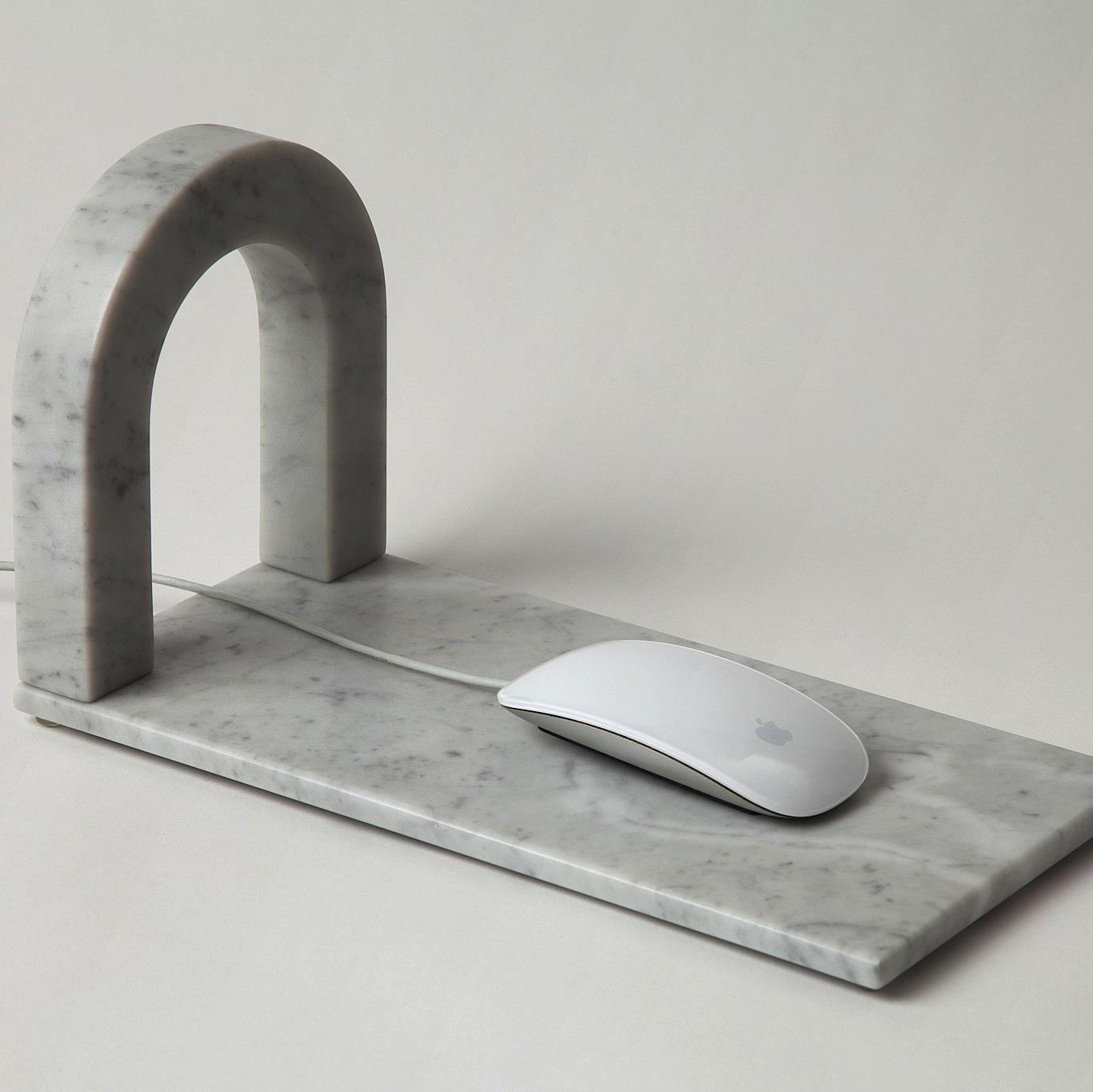 Visual-Feels-Marble-Mousepad