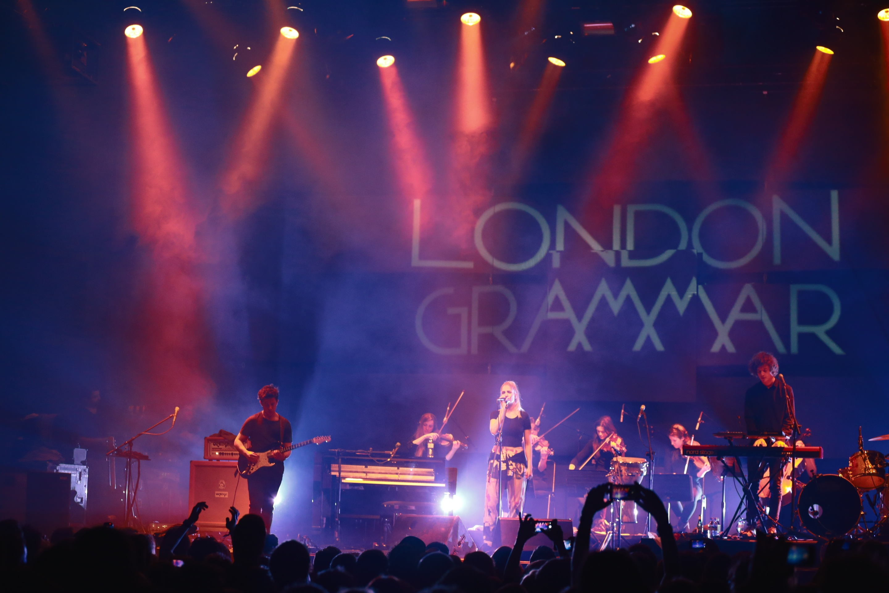 London Grammar on stage