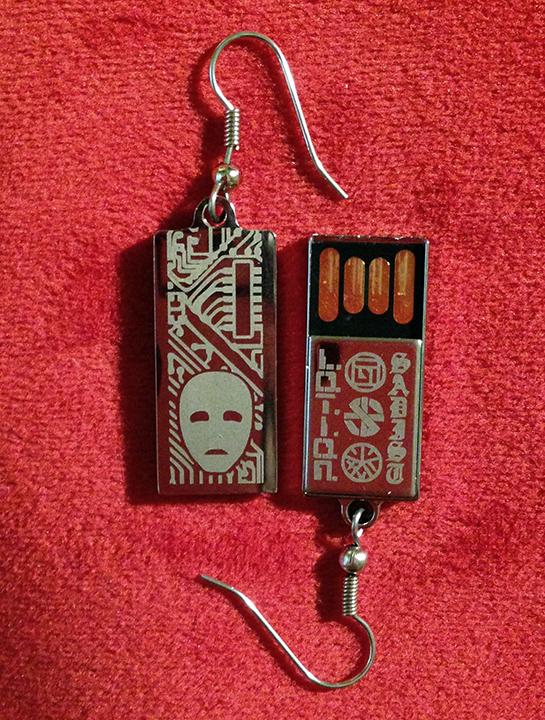 L.O.T.I.O.N. | Sadist split USB drive