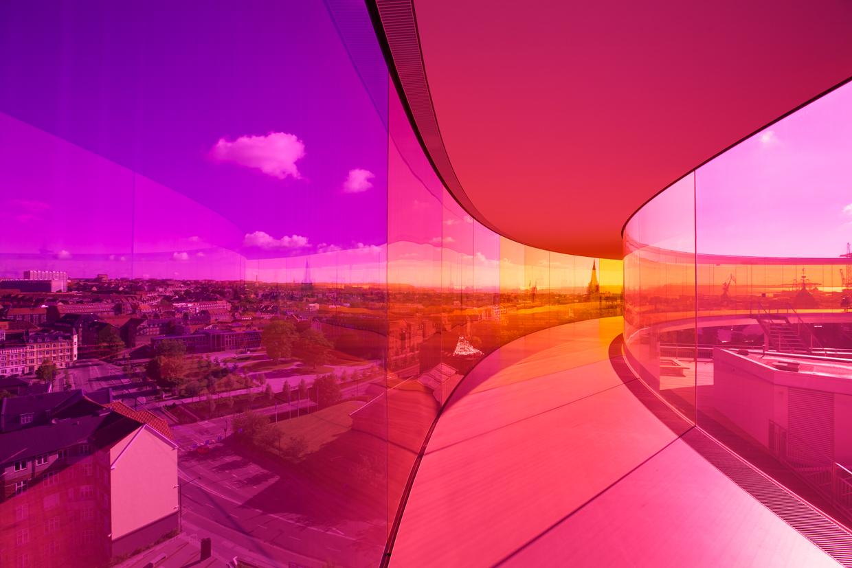 Your rainbow panorama, Ólafur Elíasson, ARoS Aarhus Kunstmuseum