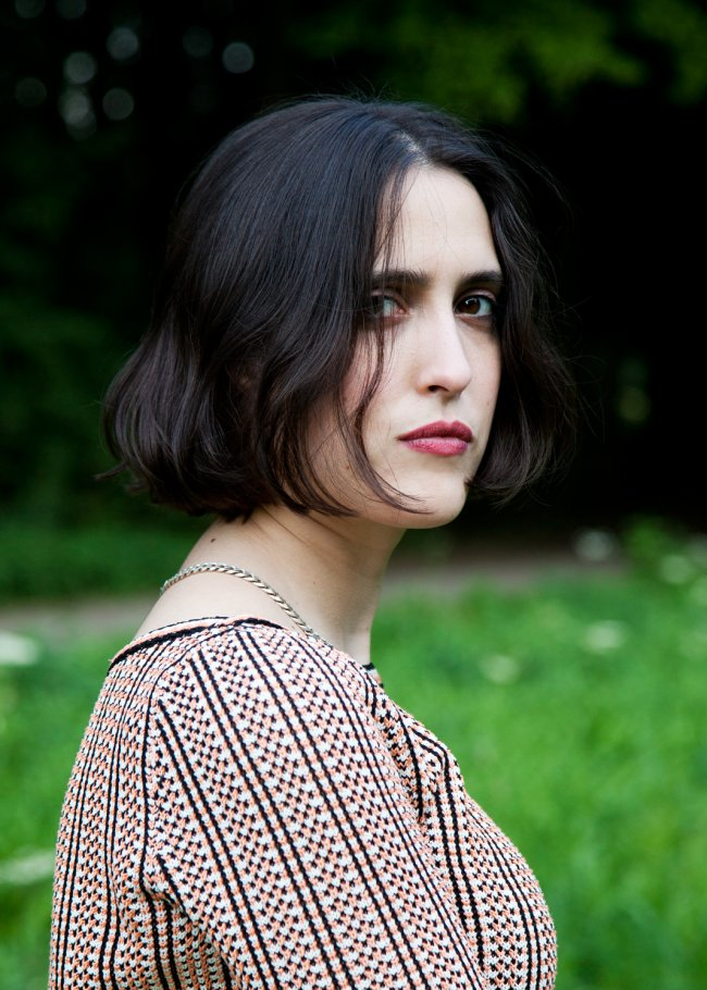 Photo of Helena Hauff at Dekmantel Festival by Isolde Woudstra.