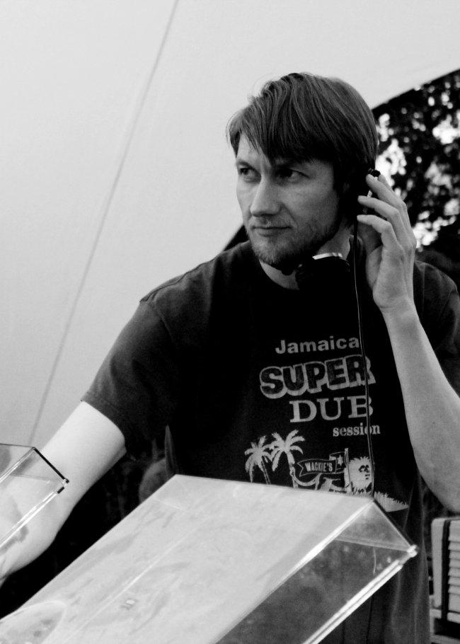DJ Pete at Wax Treatment. Photo courtesy of DJ Pete.