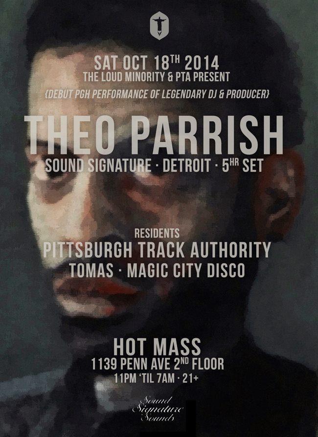 Theo Parrish Hot Mass