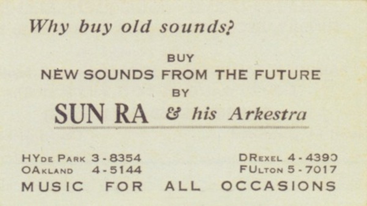 Sun Ra\'s Business Cards From The 1950\'s Are Amazing – Telekom ...