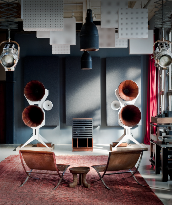 these fantastical sound systems are eye and ear candy telekom electronic beats. Black Bedroom Furniture Sets. Home Design Ideas