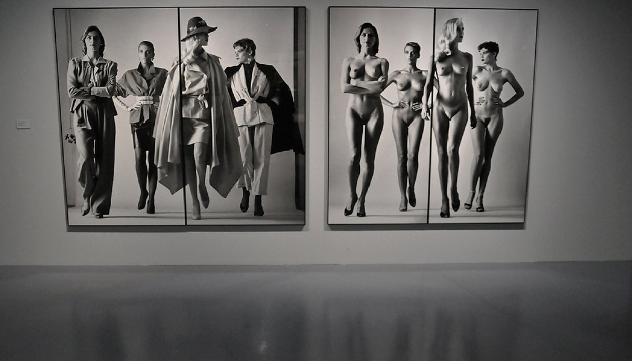 Helmut Newton-Here They Come Cover