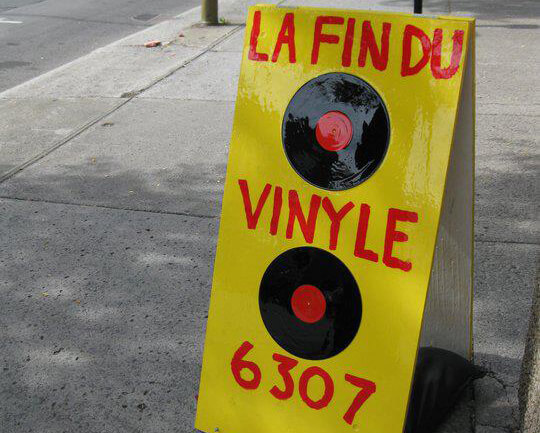 Montreal Death Of Vinyl