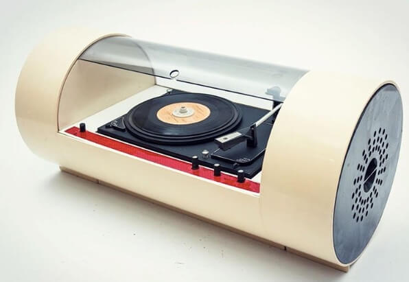 Space Age Design.These Retro Turntables Are Masterpieces Of Space Age Design