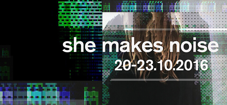 She Makes Noise Festival Flyer