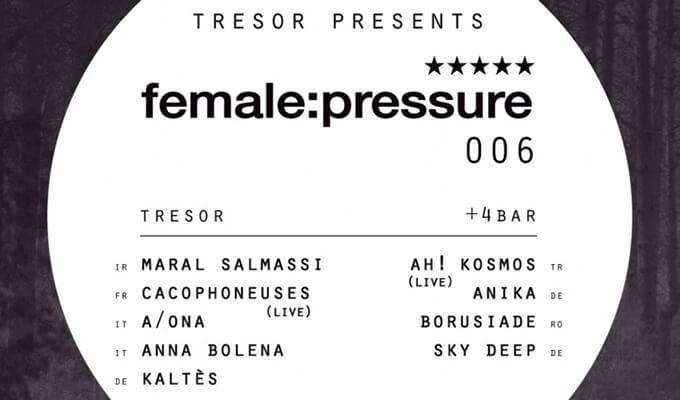 female pressure lineup