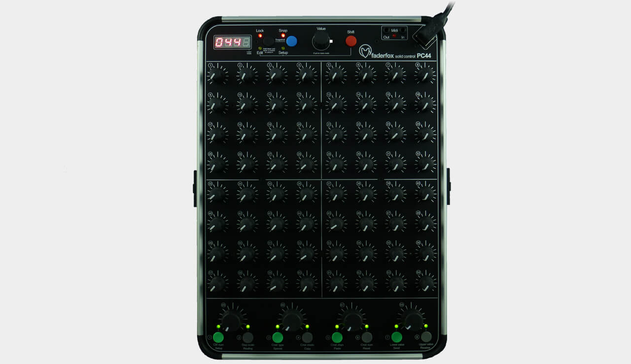 do you love knobs this new midi controller has 68 of them telekom electronic beats. Black Bedroom Furniture Sets. Home Design Ideas