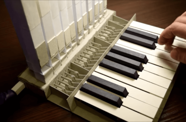 air pipe organ