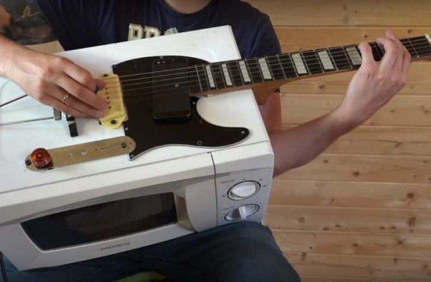 guitar microwave