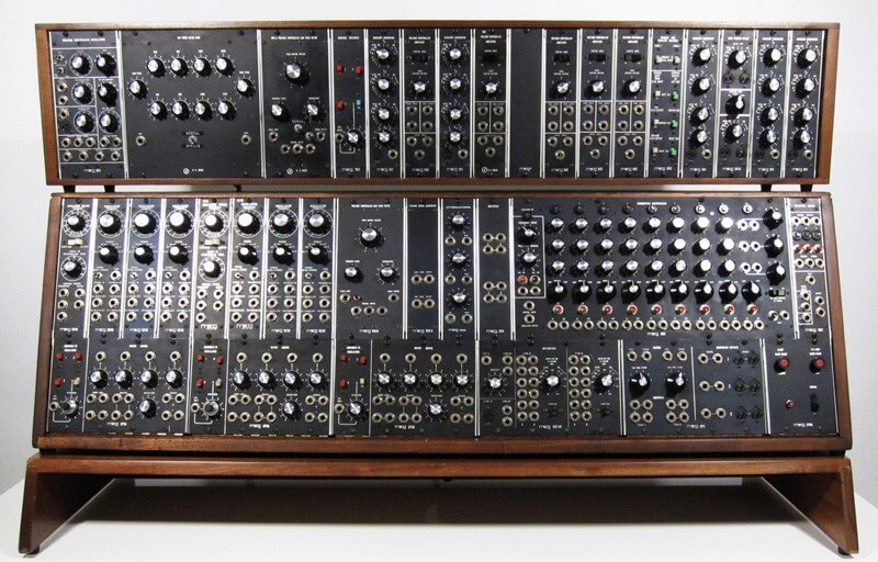 watch a video of moog s newly reissued modular synth telekom electronic beats. Black Bedroom Furniture Sets. Home Design Ideas