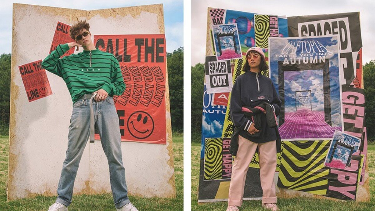 This streetwear brand is inspired by 39 90s rave and acid for Acid house 90s