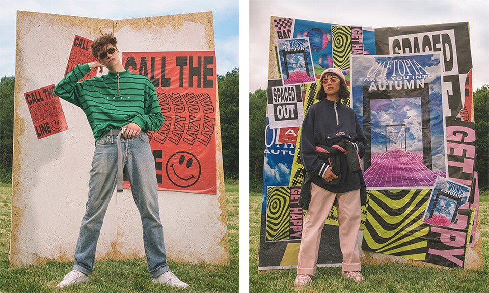 This streetwear brand is inspired by 39 90s rave and acid for Acid house rave