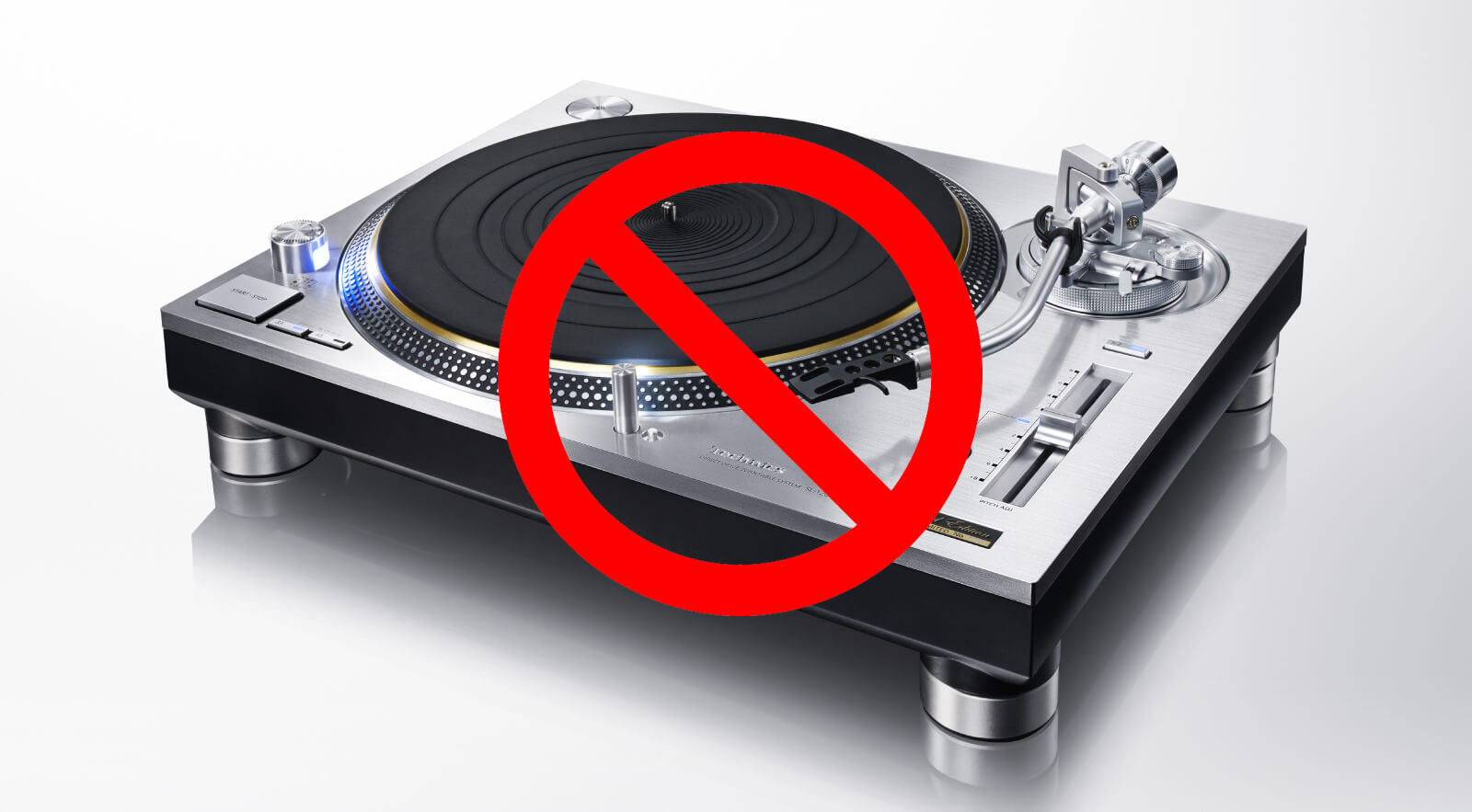 CDJs And Turntables Have Been Banned From This Underground