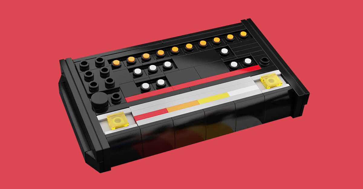 This TR-808 Lego Kit Is The Perfect Techno Stocking Stuffer