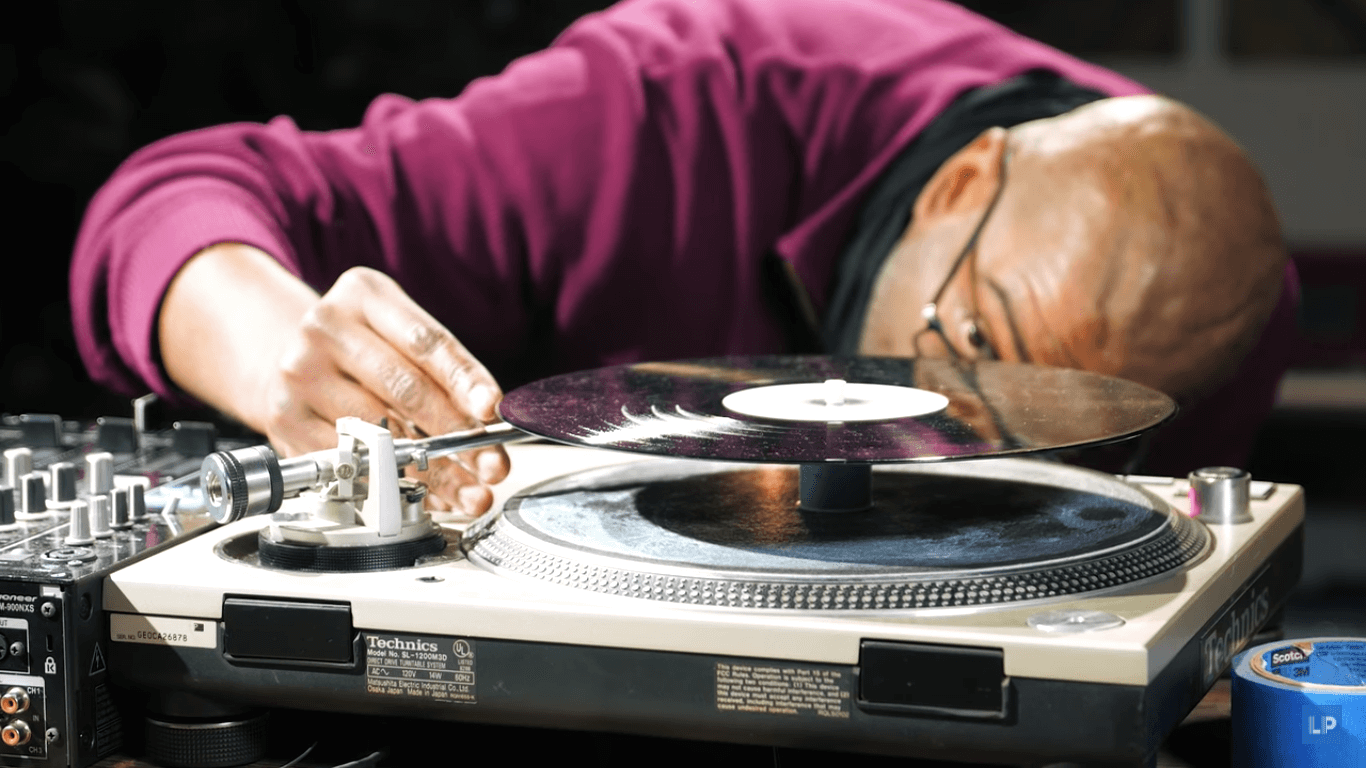 Watch How To Play Techno Vinyl Backwards The Old School Way