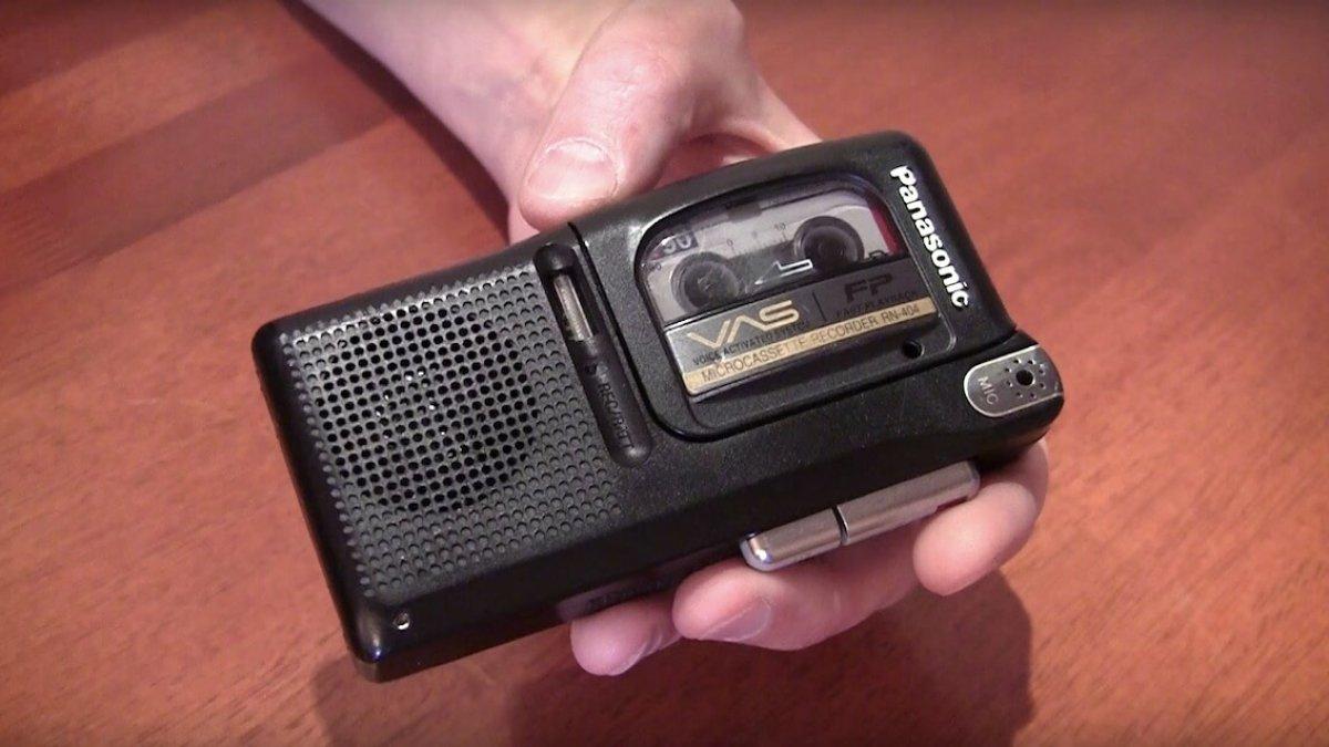 tube amp casette recorder