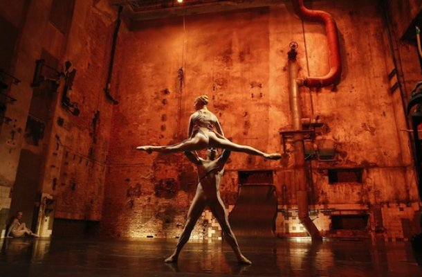 berghain masse techno ballet
