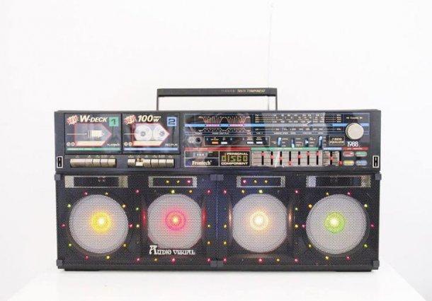 vintage boombox japan 1980s