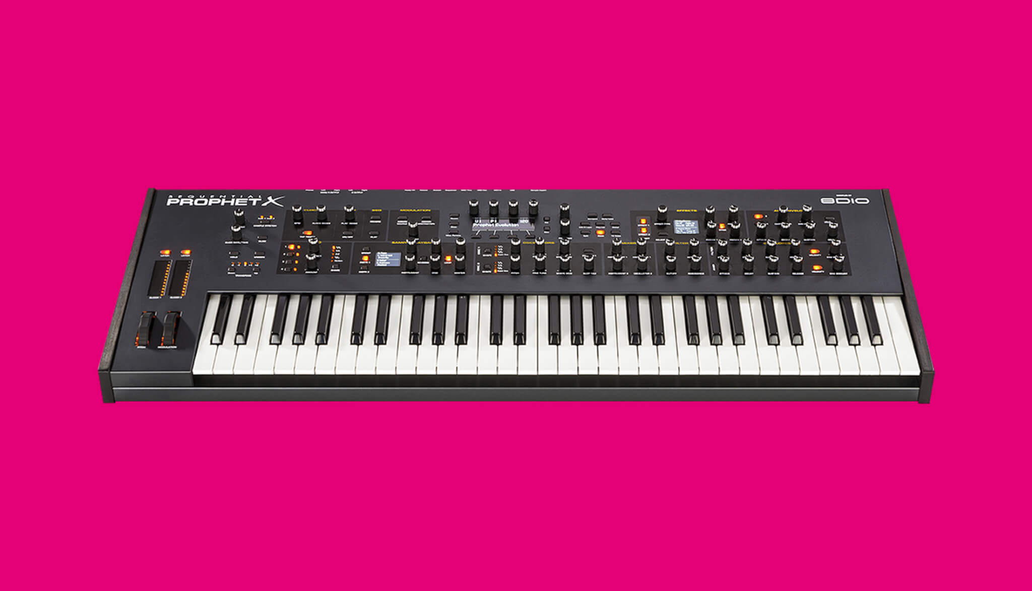Dave Smith Instruments Prophet X Synthesizer Polysynth 16-voice sampler