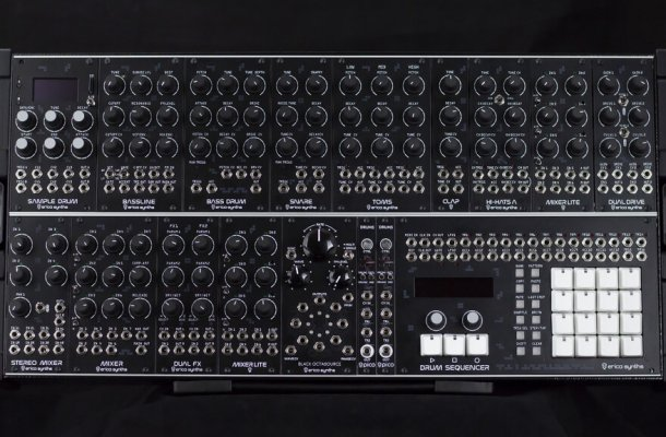 Erica Synths Techno System synthesizer