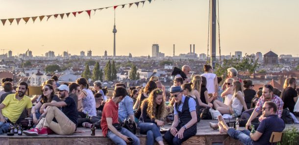 Telekom Electronic Beats' next editors' party is at Klunkerkranich