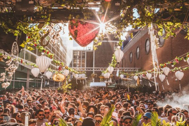European Techno Festivals Summer lente kabinet