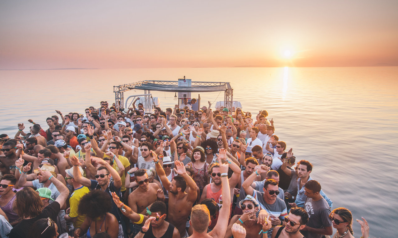 European Techno Festivals Summer love international croatia