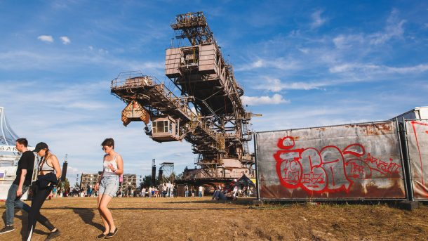 European Techno Festivals Summer Melt