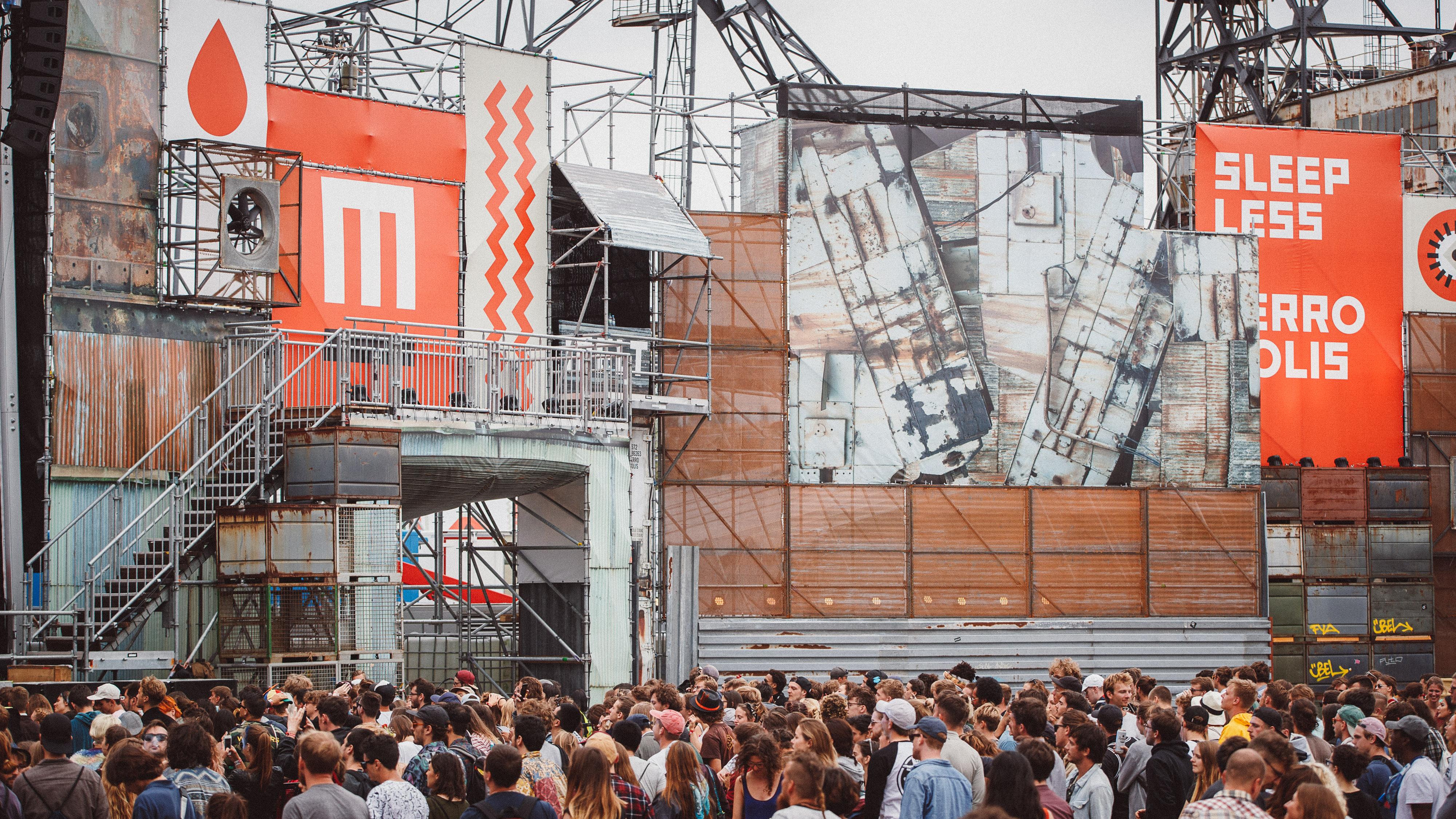 Melt! Festival In Ferropolis Germany Electronic Music