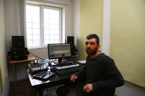 Michailo, Georgian Techno Producer Making Music From Prison Tbilisi