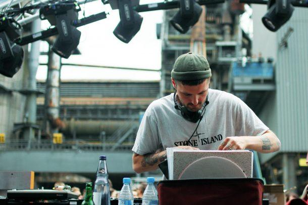 TEB Clubnight Open Air Landschaftspark Duisburg The Third Room Studio Essen Blawan Techno Party by Katharina Schaeffer