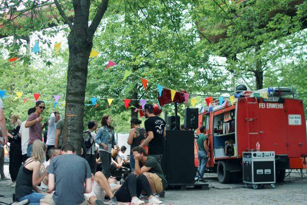 TEB Clubnight Open Air Landschaftspark Duisburg The Third Room Studio Essen Techno Party by Katharina Schaeffer