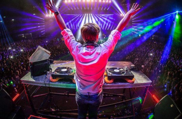 Armin van Buuren puts his hands up for trance.